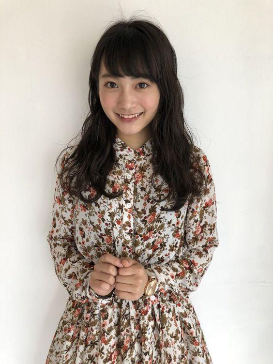 花柄の福田愛依