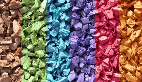 Add some fearless and fun curb appeal to your outdoor space with the addition of wonderfully vivid hues! Read more about rubber mulch colors, on the blog:   http://rubbermulch.com/blogs/rubbermulch/34723521-all-you-need-to-know-about-rubber-mulch-colors