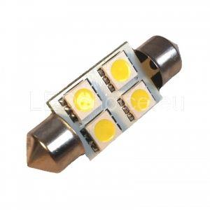 C5W-239 LED Car Bulb 4-SMD - LED Auto Lights   LEDchoice.eu