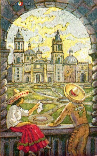 Fotos de , , México: Catedral y Zócalo
