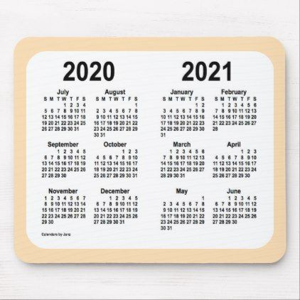 2020 2021 School Year Calendar By Janz Wheat Mouse Pad Zazzle Com Custom Calendar Calendar Design School Year