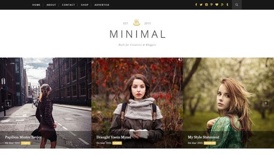 Josephine is a clean & minimalistic Blogger template suitable for any type of blog. It's very flexible, fully customizable and powered with