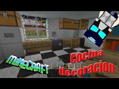 Youtube Decoracion De Cocina Minecraft Decoracion De Unas