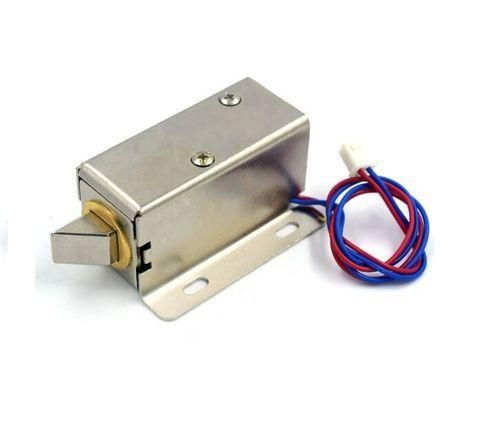 The 12v Minature Solenoid Lock Can Be Used In Automation Projects In Which A Lock Has To Be Controlled Electronically In 2020 Electric Lock Electronic Lock Electricity