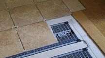 New radiant heating element is resistant to water and chemicals.