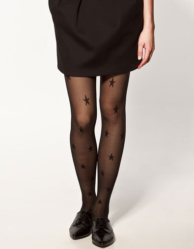 fantasy tights with STARS