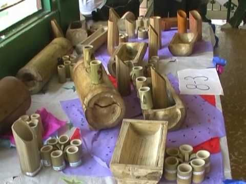 Manualidades con bambu para el hogar buscar con google - Manualidades de hogar ...