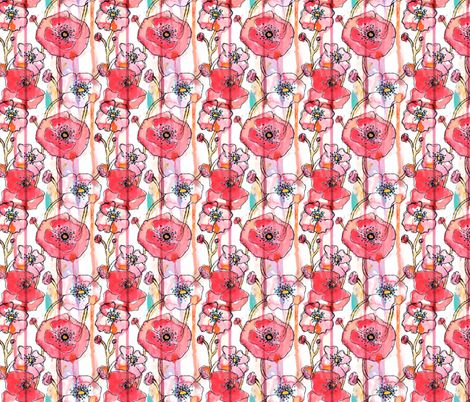 Watermelon Punch fabric by sara_berrenson on Spoonflower - custom fabric