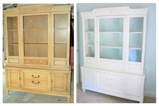 great DIY on painting furniture