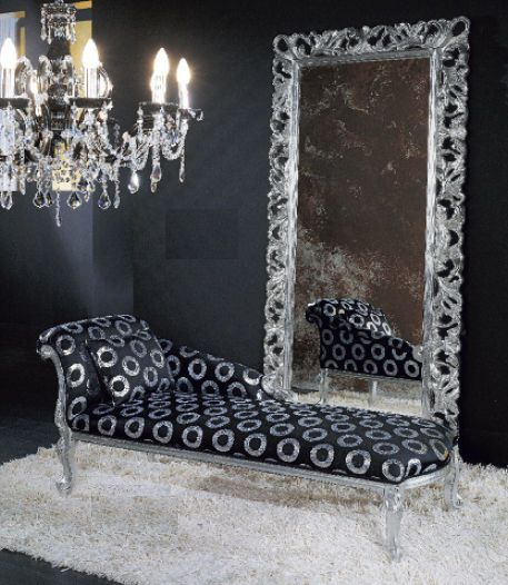 New Barroque desing Divan by MIKY  CHIAVEGATO