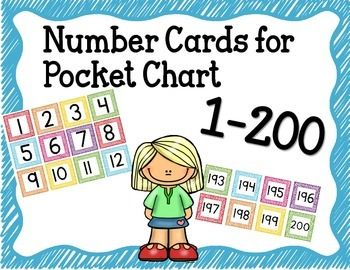 Number Flashcards 1 200 - Numbers 1 to 100 Flash Cards Numeros del ...
