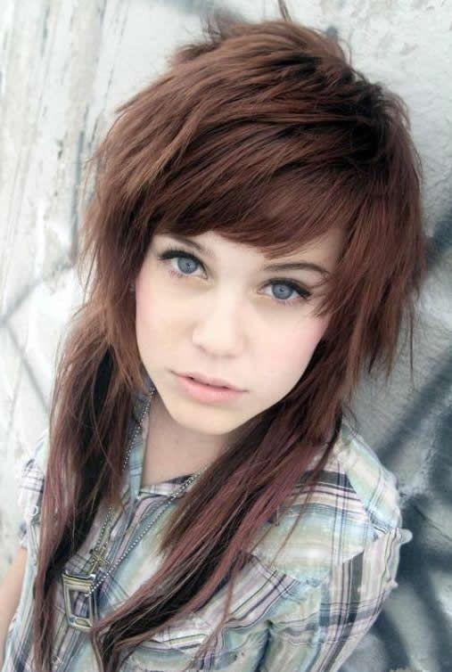 Astounding Beautiful Girl Hair And Emo On Pinterest Short Hairstyles For Black Women Fulllsitofus