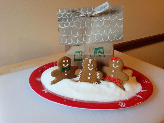 Gluten Free Gingerbread Families from The Sensitive Sous Chef.