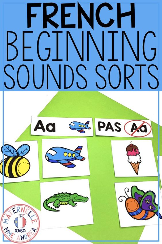Trier Les Sons De L Alphabet French Alphabet Beginning Sound Sorts Beginning Sounds French Alphabet Alphabet Sort