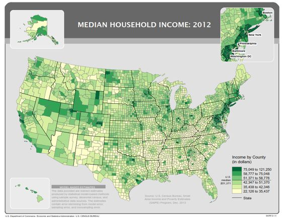 County Income Maps Teaching Intro Soc Pinterest Child - Income maps of the us