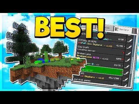 Best Skyblock Server In Minecraft Pocket Edition Minecraft