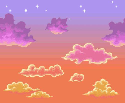 Anime Pixel Backgrounds Tumblr