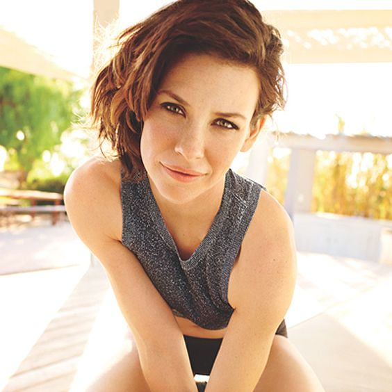 Evangeline's Got Guts - Photo by: Peggy Sirota http://www.womenshealthmag.com/life/evangeline-lilly
