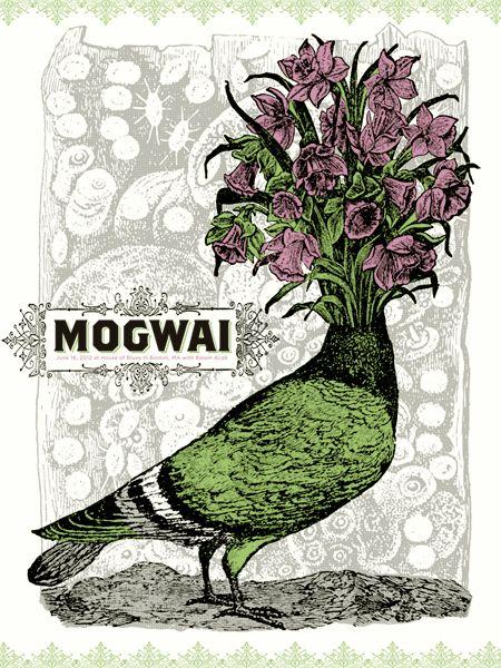 Mogwai #MusicArt #LivePoster #BandPoster #PostRock