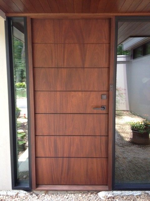 Wooden door design in kerala garagedoorrepairb mom Modern white front door