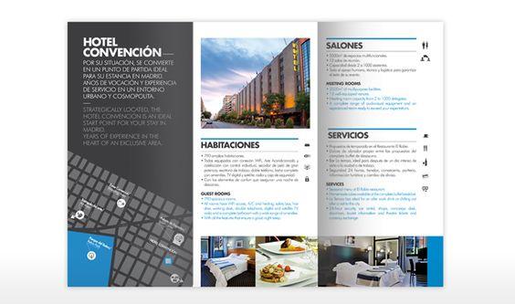 Identidad corporativa y web del Hotel Convención de Madrid.