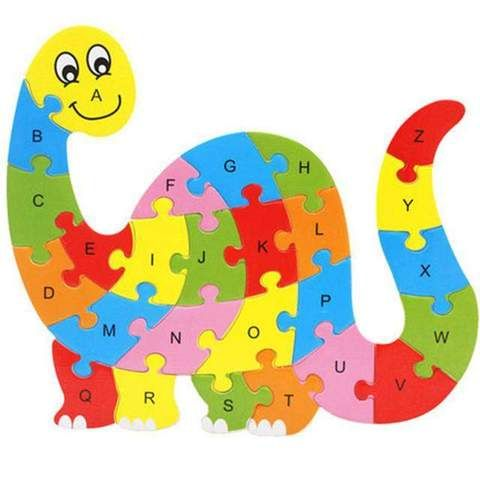 Wooden Alphabetical Order Animal Pattern 10 Magnificent Choices Wooden Puzzles Puzzle Toys Kids Animal Learning