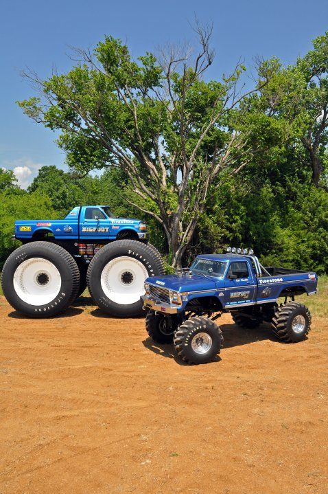 The Destroyer Was A A Popular Monster Truck In The S Biggie