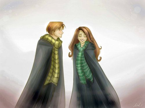 Andromeda Black and Ted Tonks
