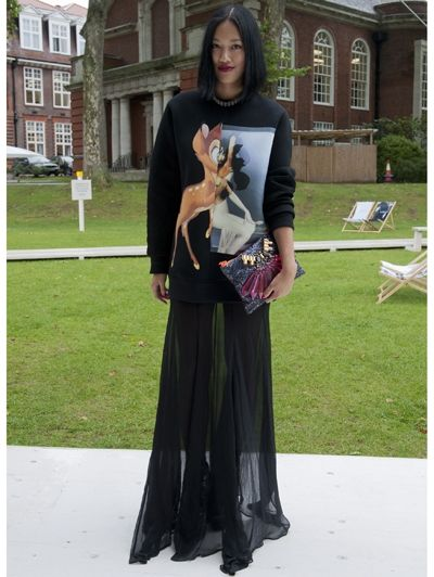 Complete look @ Londen Fashion Week