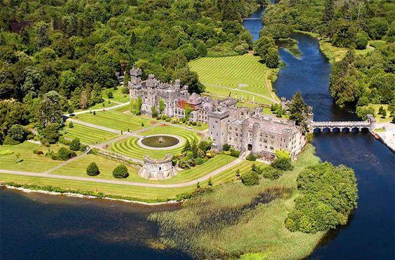 Ashford Castle -Irlanda-Hotel de Charme.