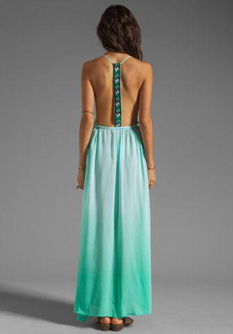Tribal Boho Sexy Open Back Maxi Dress. Boho Outfit. Bohemian Style ...