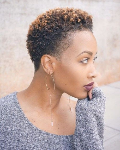 Best 50 Styles With Twa Hair That Go With You New Natural Hairstyles Short Black Natural Hairstyles Short Natural Hair Styles Short Afro Hairstyles