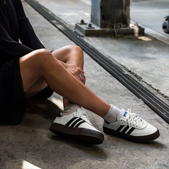 Adidas Sambarose AQ1134 Damessneakers | Adidas schoenen ...