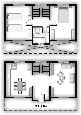 Duplex industrializados planos planos de viviendas for Planos de viviendas de dos plantas