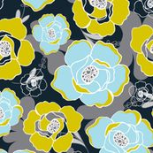Katrien by heatherdutton, click to purchase fabric