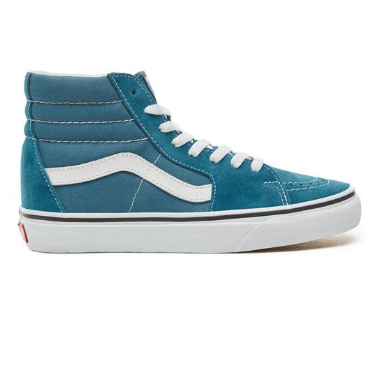 Color Theory Sk8-Hi Schoenen (Unisex) | Blauw | Vans | Chaussure ...
