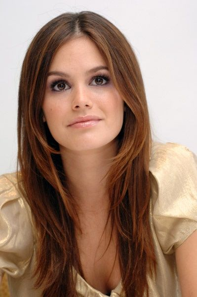 Look at Rachel Bilson #haircolour, if you love browns with a twist of red: beautiful!