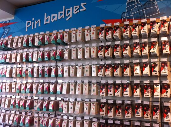 Bringing a slightly different meaning to 'pin it' - @johnlewisretail have a fantastic display for #London2012
