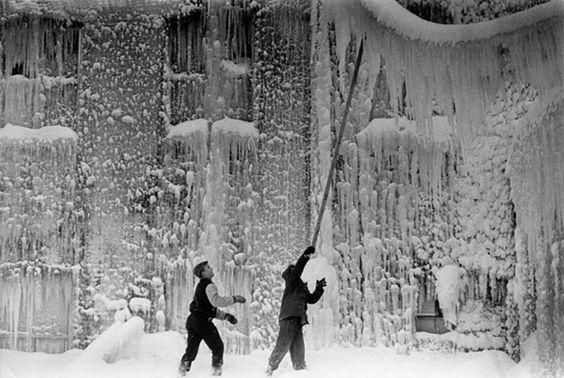 varietas:  Irwin Klein: Ice Storm, Minnesota, 1962-1964.