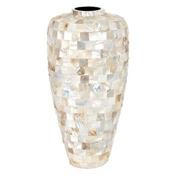 Aspire Ceramic Mother of Pearl Vase