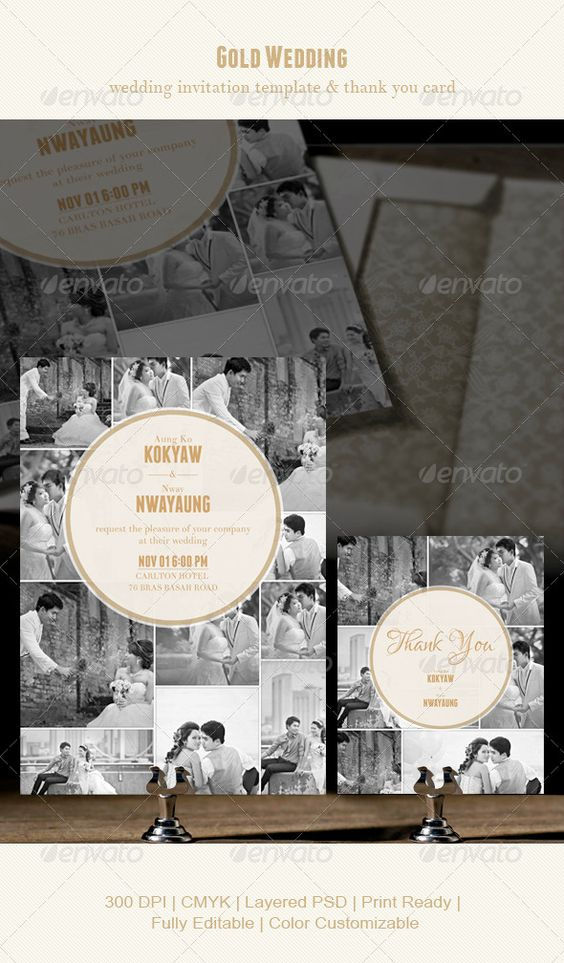 birdcage wedding invitation template%0A Gold Wedding  CS  black and white  card  couple  engagement  fancy  gold   gold colour  greyscale  invitation  photo  save the date  template  thank  you card