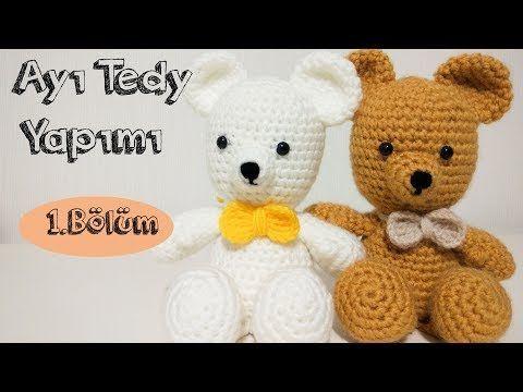 Amigurumi Crochet Teddy Bear (Sevimli Ayı) Pattern Yapılışı ... | 360x480