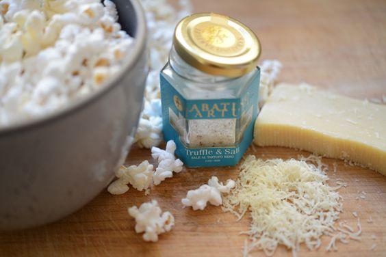 ... and truffle salt | Yummy | Pinterest | Truffles, Popcorn and Parmesan