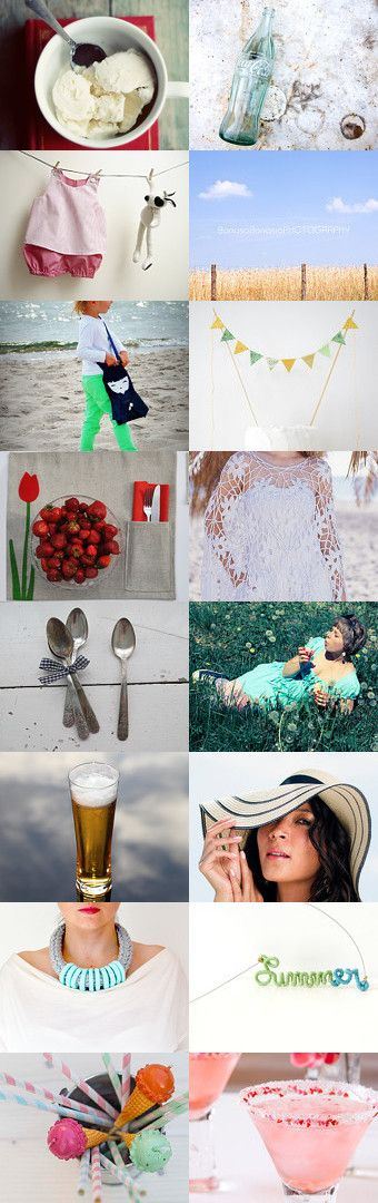 on a hot day like this... by Sylwia on Etsy--Pinned with TreasuryPin.com