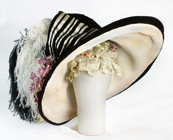 Eliza Doolittle hat from My Fair Lady