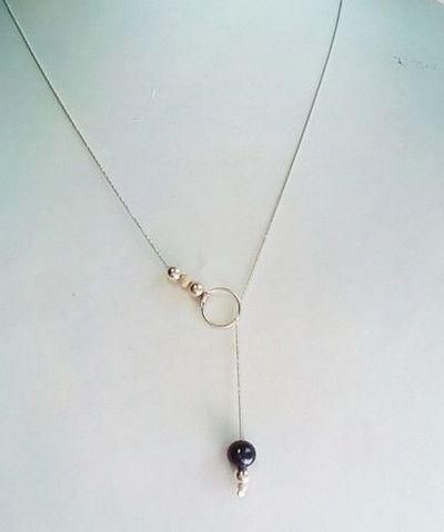 DIY bijoux: un collier élégant et simple à faire.