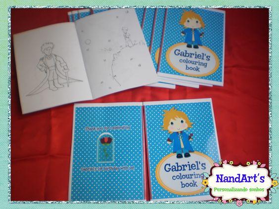 Revista - Pequeno príncipe | NandArts Personalizados | Elo7
