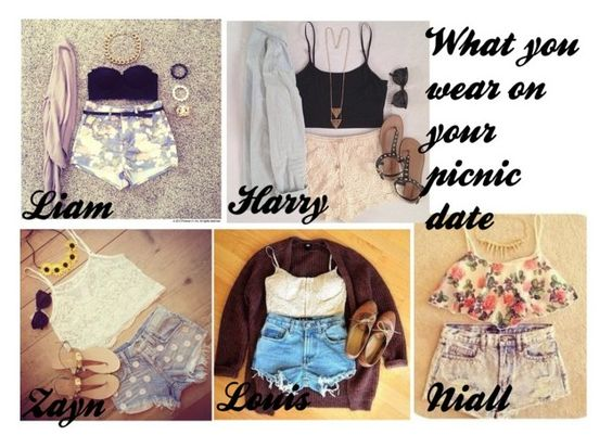 """The outfit you wear to your picnic date"" by fifipayhorstylikson ❤ liked on Polyvore"