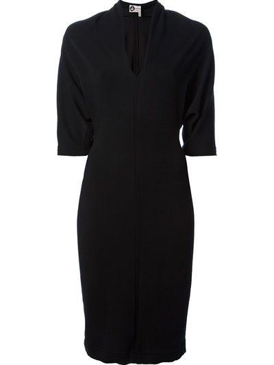 LANVIN V-Neck Dress