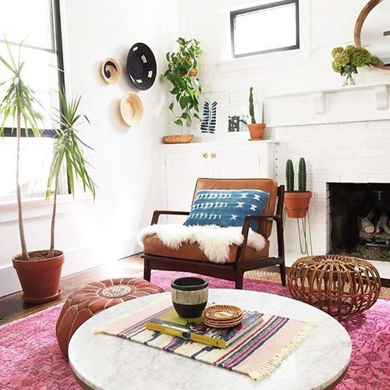 California Eclectic Decor Anthropologie Style Home